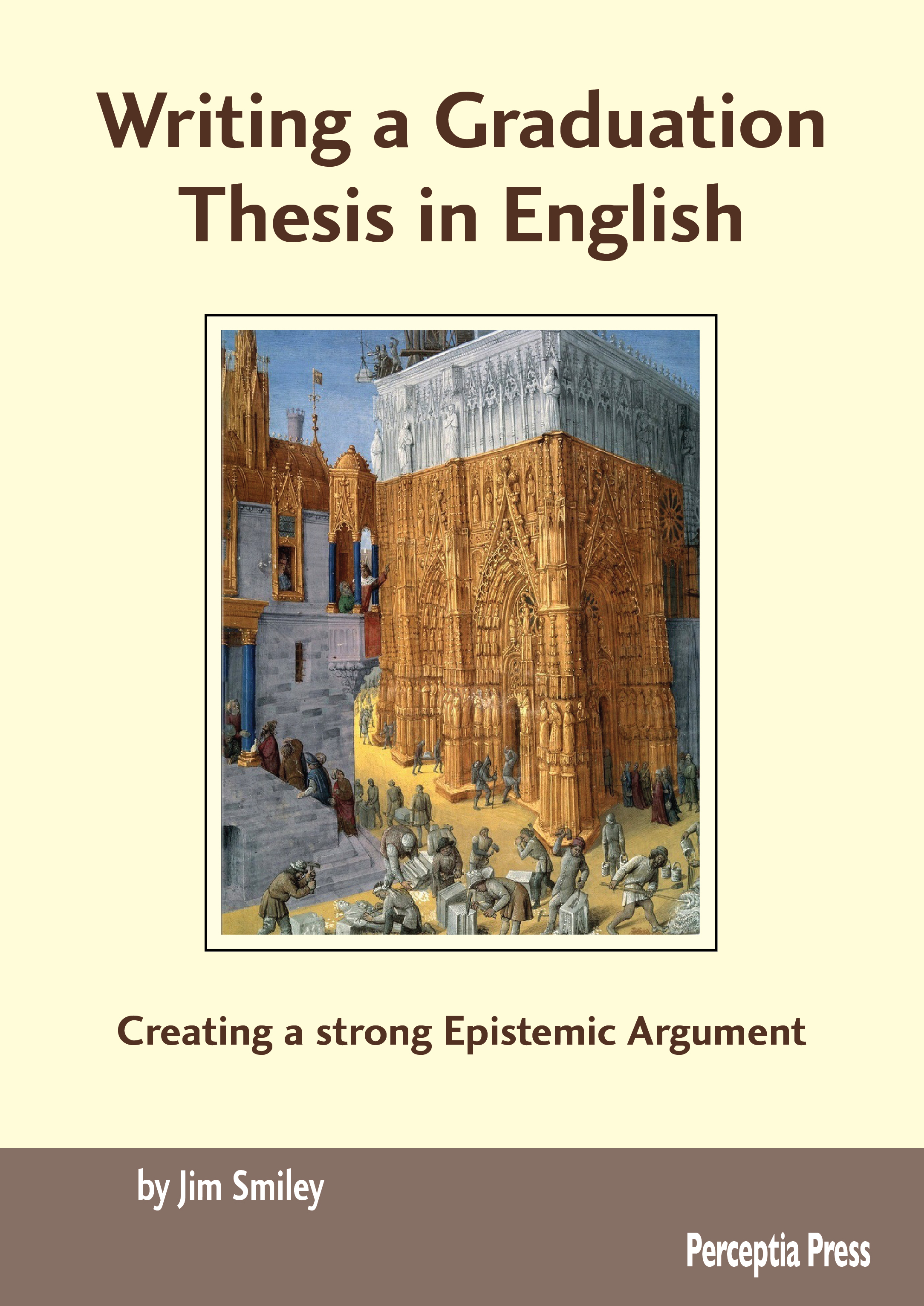 Writing a Graduate Thesis in English Cover